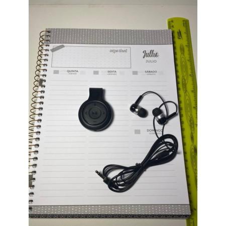 Gravador de áudio MP3