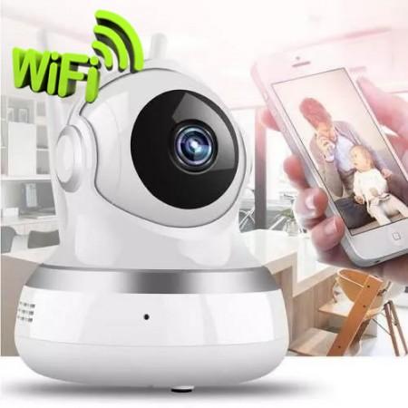 Câmera IP - WiFi - INFRA - HD - ONVIF - 3 Antenas