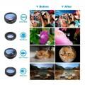 Lente De Celular Macro 10X + Kit de Lenses - Apexel