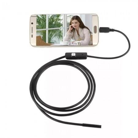 Câmera Endoscópica 2 metros (Android e USB) 7 milimetros