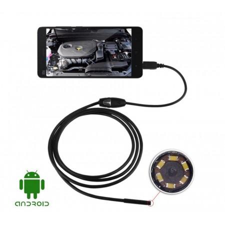Câmera Endoscópica 10 metros (Android e USB) 7 milimetros