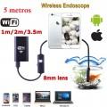 Câmera Endoscópica WiFi 5 Metro iPhone/iPad/Android/PC