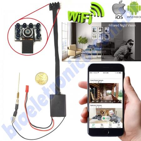 Modulo Câmera Escondida - Câmera Camuflada - WiFi - INFRA - Modelo 2019 - 02