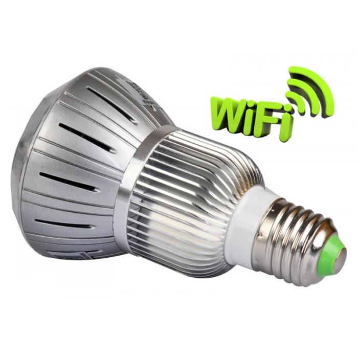 Lampada com Câmera Camuflada Wifi - 02 (visão noturna)