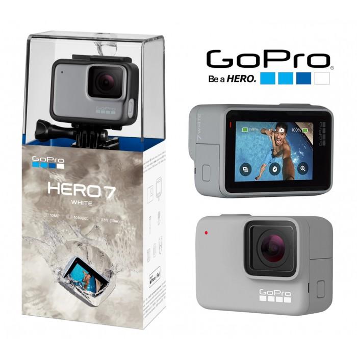 Câmera Esportiva GoPro Hero7 WHITE 1080p 60FPS