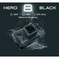 Câmera Esportiva GoPro Hero8 BLACK 4K 60FPS HyperSmooth 2.0 + 32GB EXTREME